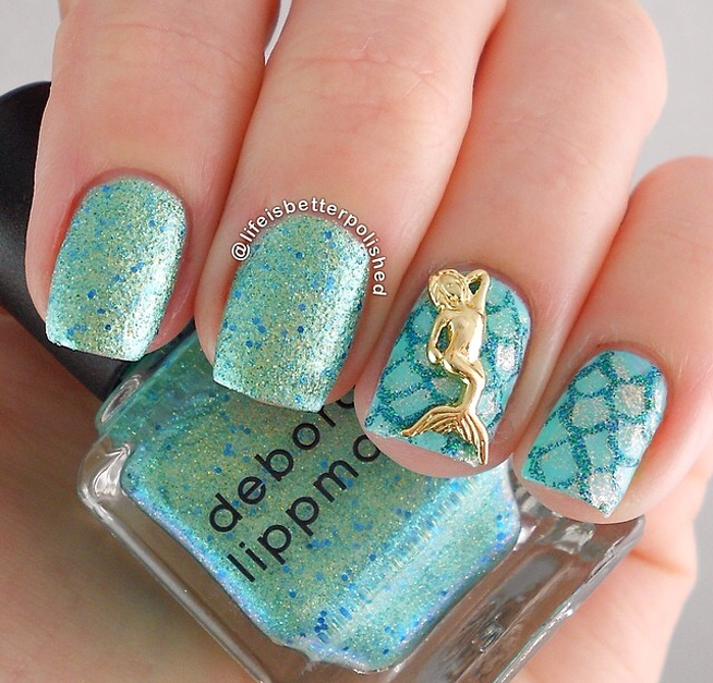 nail art design 25 Amazing Instagram Nails 2015/16 by Life is Better Polished 25 Amazing Instagram Nails 2015/16 by Life is Better Polished nail art design