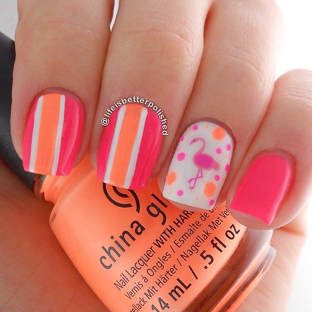 nail art design 25 Amazing Instagram Nails 2015/16 by Life is Better Polished 25 Amazing Instagram Nails 2015/16 by Life is Better Polished nail art design6