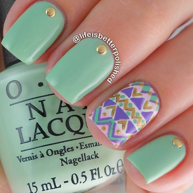 25 Amazing Instagram Nails 2015/16 by Life is Better Polished 25 Amazing Instagram Nails 2015/16 by Life is Better Polished nail art