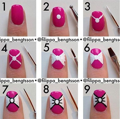 nail designs tutorials 25 Nail Art Designs Tutorials Step By Step for Beginners 25 Nail Art Designs Tutorials Step By Step for Beginners nail designs tutorials