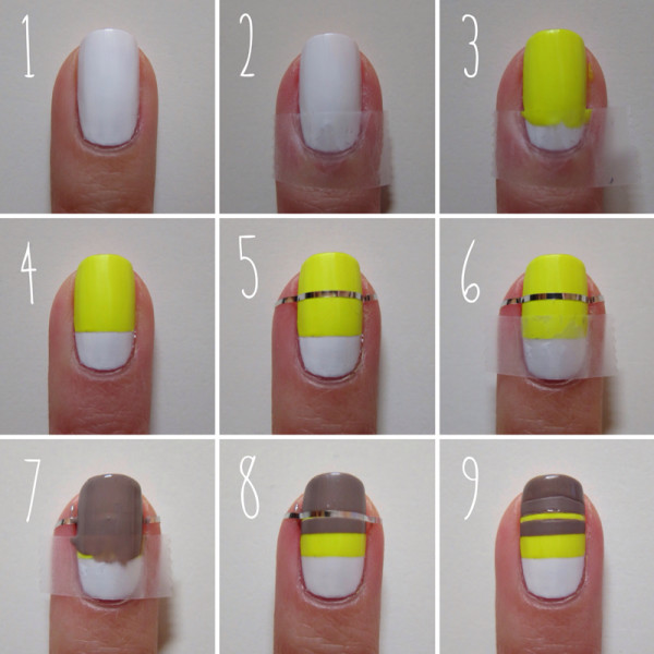 nail designs tutorials 25 Nail Art Designs Tutorials Step By Step for Beginners 25 Nail Art Designs Tutorials Step By Step for Beginners nail designs tutorials1