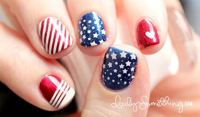 patriotic nail design 21 Awesome 4th Of July Patriotic Day Nail Design Ideas 21 Awesome 4th Of July Patriotic Day Nail Design Ideas patriotic nail design