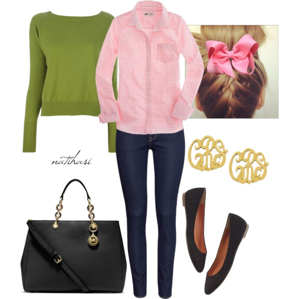 school outfit ideas 20 Cute Back to School Outfits On Polyvore 2015/16 20 Cute Back to School Outfits On Polyvore 2015/16 school outfit ideas2