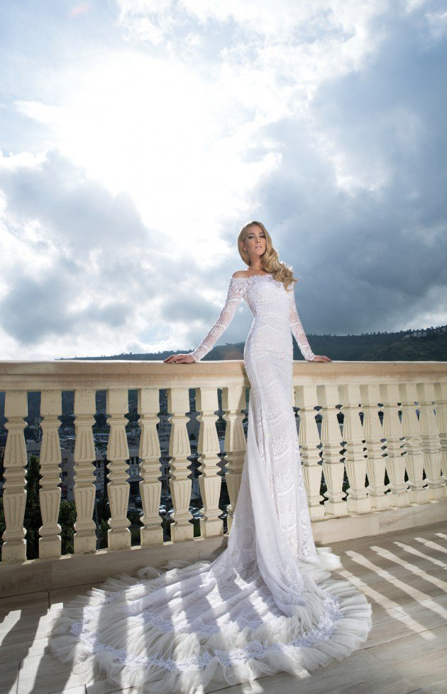 wedding dress by shabi & israel  Gorgeous Haute Couture 2015 Wedding Dresses By Shabi & Israel Gorgeous Haute Couture 2015 Wedding Dresses By Shabi & Israel wedding dress