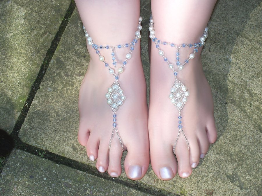 white_and_blue_barefoot_sandals 21 Beach Wedding Barefoot Sandals 2015/16 21 Beach Wedding Barefoot Sandals 2015/16 white and blue barefoot sandals