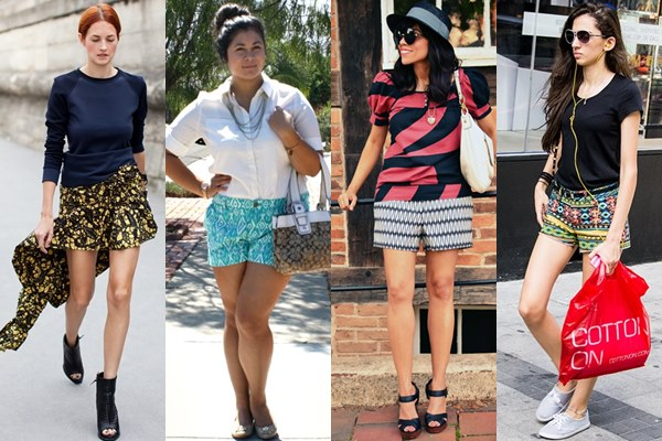 Ethnic-Print-Shorts-Ideas-for-Spring-Summer 25 Latest Fashion Trends of UK for Shorts in Summer 2015/16 25 Latest Fashion Trends of UK for Shorts in Summer 2015/16 Ethnic Print Shorts Ideas for Spring Summer