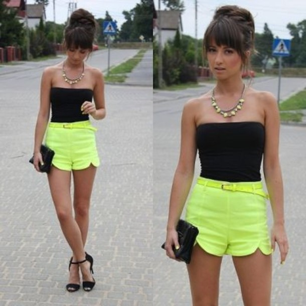 High-Waisted-Shorts-for-Girls 25 Latest Fashion Trends of UK for Shorts in Summer 2015/16 25 Latest Fashion Trends of UK for Shorts in Summer 2015/16 High Waisted Shorts for Girls