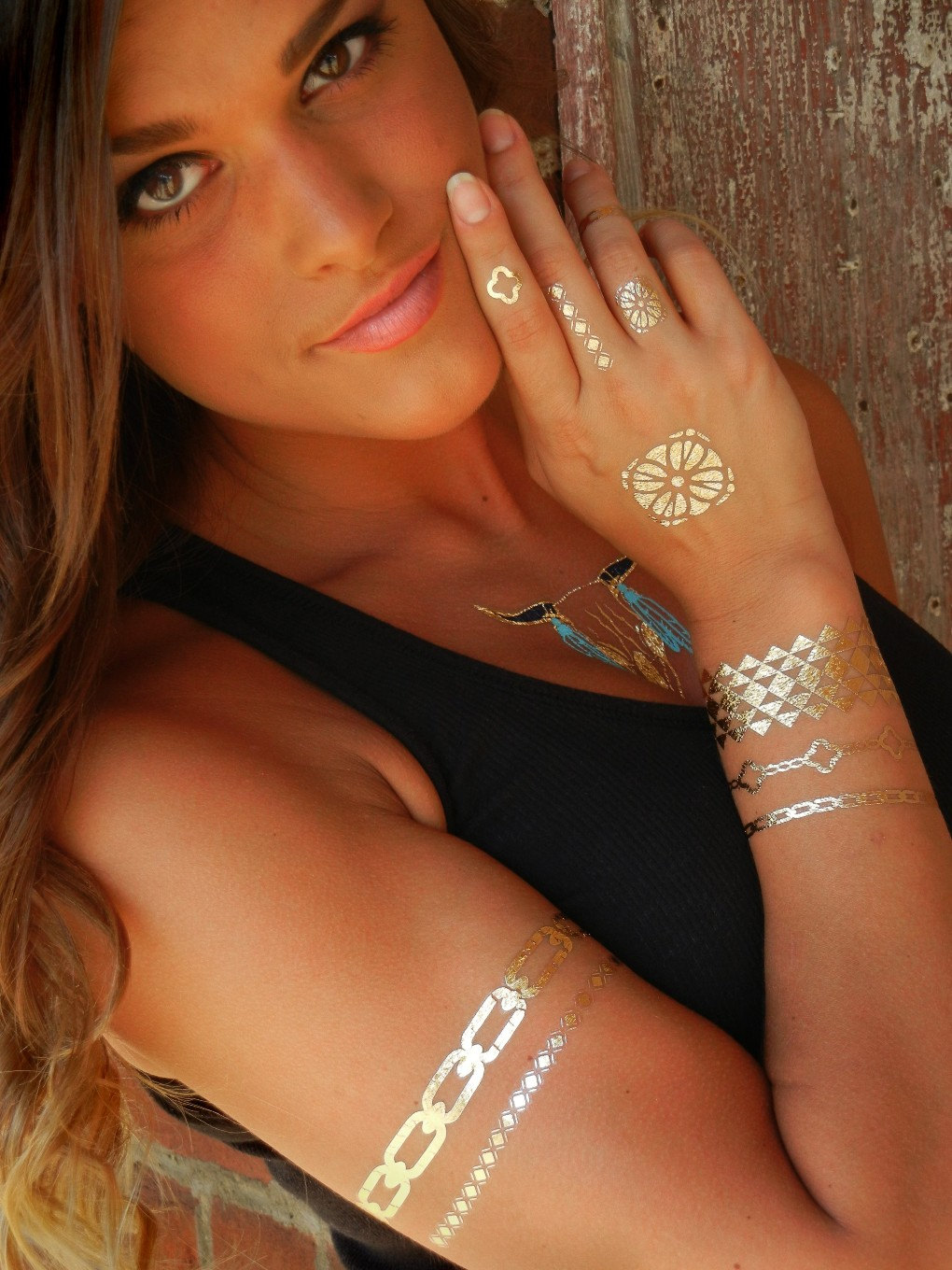 Jewelry-Metallic-Temporary-Tattoos 15 Gold & Silver Jewelry Metallic Temporary Tattoos Ideas 2016 15 Gold & Silver Jewelry Metallic Temporary Tattoos Ideas 2016 Jewelry Metallic Temporary Tattoos2