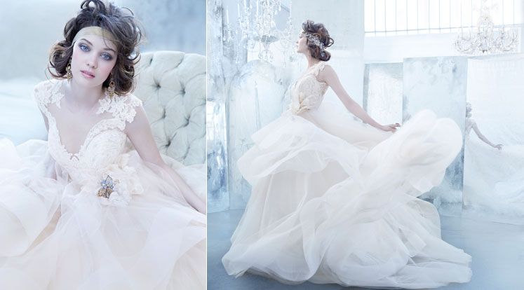 bridal gowns 16 Awesome Wedding Dresses 2015/16 By Lazaro 16 Awesome Wedding Dresses 2015/16 By Lazaro bridal gowns2