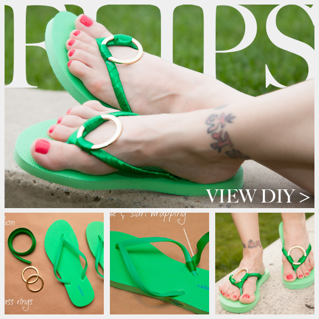 gold-diy-flip-flops 18 Adorable Diy Summer Flip Flops For Girls 18 Adorable Diy Summer Flip Flops For Girls gold diy flip flops