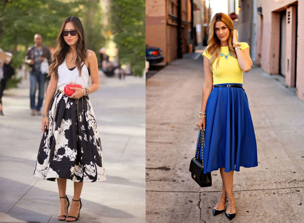 midi skirt Perfect Skirt Styles For Your Body Type Perfect Skirt Styles For Your Body Type midi skirt
