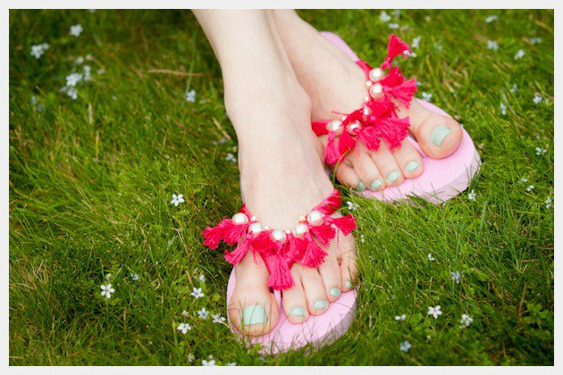 tassel-beaded-flip-flops 18 Adorable Diy Summer Flip Flops For Girls 18 Adorable Diy Summer Flip Flops For Girls tassel beaded flip flops
