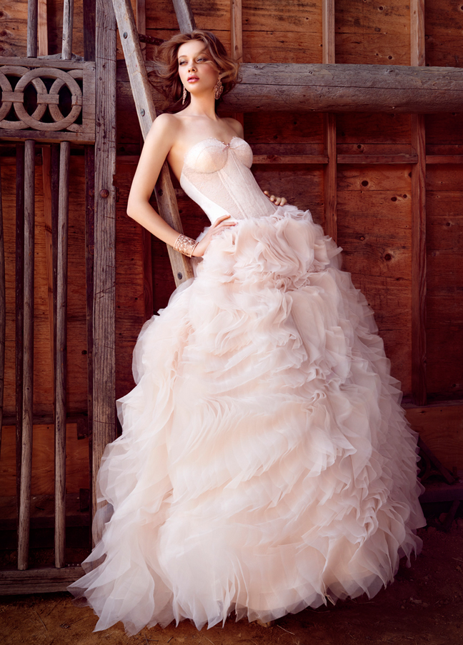 wedding dress 16 Awesome Wedding Dresses 2015/16 By Lazaro 16 Awesome Wedding Dresses 2015/16 By Lazaro wedding dress
