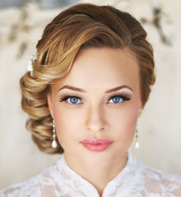 Bridal Makeup Hairstyle Images : 20 Best Wedding Guest Hairstyles For Women 2016