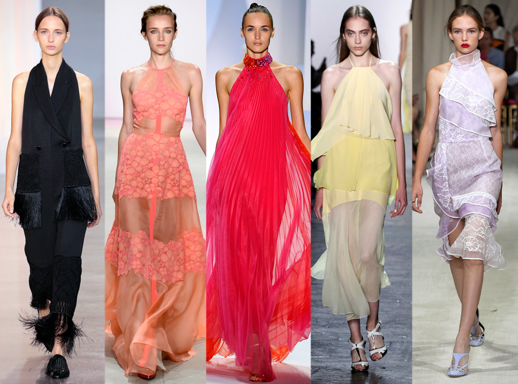 .Fashion-Week-Trends-Halter-Necklines 15 Best Spring 2016 Fashion Trends From New York Fashion Week 15 Best Spring 2016 Fashion Trends From New York Fashion Week Fashion Week Trends Halter Necklines