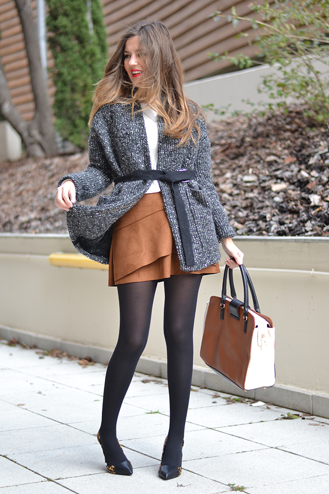 alinesuedeskirt_18 20 Suede Skirts With Stylish Outfit Ideas For Fall 2015 20 Suede Skirts With Stylish Outfit Ideas For Fall 2015 alinesuedeskirt 18
