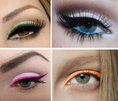 colorful eyeliner Fabulous Colourful Eyeliner Looks For 2015 & 2016 Fabulous Colourful Eyeliner Looks For 2015 & 2016 colorful eyeliner