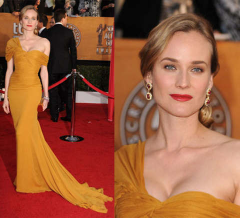 diane-kruger-sag-awards-red-carpet-look1 15 Diane Kruger's Fashion Styles & Red Carpet Looks 15 Diane Kruger's Fashion Styles & Red Carpet Looks diane kruger sag awards red carpet look1