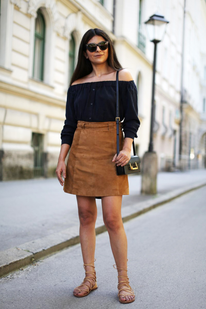 suede skirt 20 Suede Skirts With Stylish Outfit Ideas For Fall 2015 20 Suede Skirts With Stylish Outfit Ideas For Fall 2015 suede skirt4