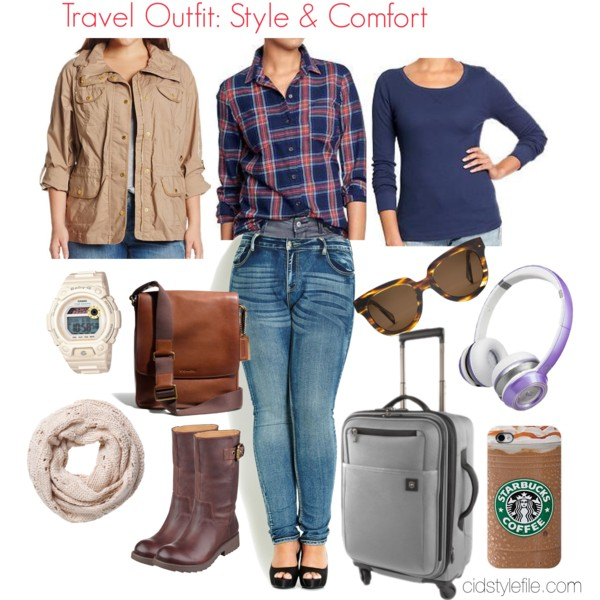 travelling outfits Comfy Outfits For Travel on Polyvore Comfy Outfits For Travel on Polyvore travelling outfits1
