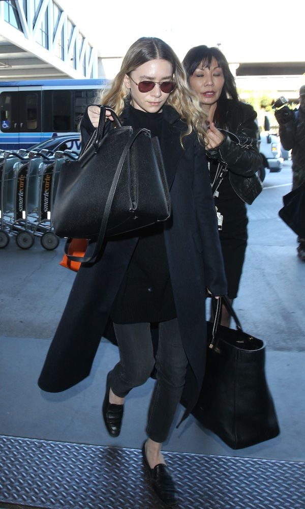 Ashley Olsen is seen at LAX airport, 23 December 2014. 23 December 2014. Please byline: Vantagenews.co.uk What To Wear During Travel What To Wear During Travel 326b8d29bcee6fd857adc2d23739f427