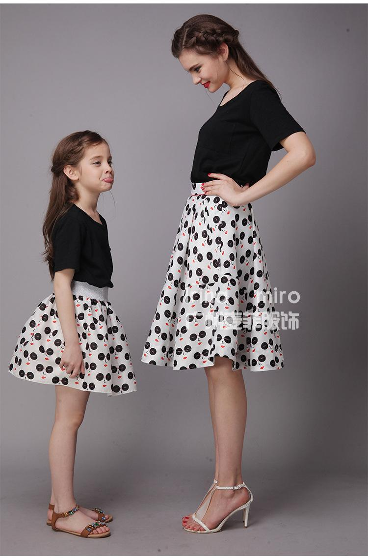 Mom And Daughter Look Alike Dresses