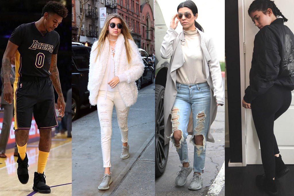 celebrities-wearing-yeezys Yeezy Sneakers Yeezy Sneakers - Worth It? celebrities wearing yeezys