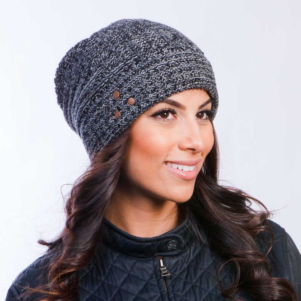 Girl wearing beanie. Courtesy of BeanieVille  Trendy hat styles for all occasions Beanie Hat for Women