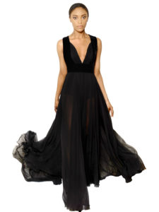elie-saab-black-silk-georgette-and-velvet-dress-product-1-21932853-0-111102686-normal  Designer maxi dresses for weddings elie saab black silk georgette and velvet dress product 1 21932853 0 111102686 normal