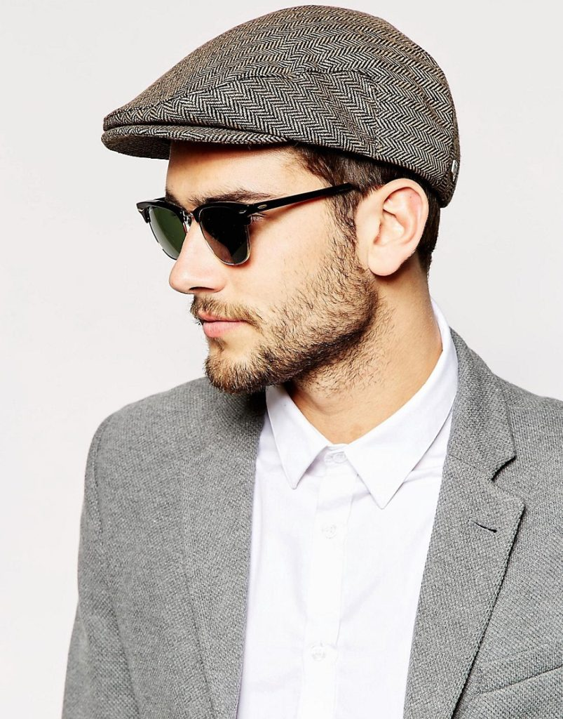 The flat cap. Courtesy of Asos  Trendy hat styles for all occasions image3xxl