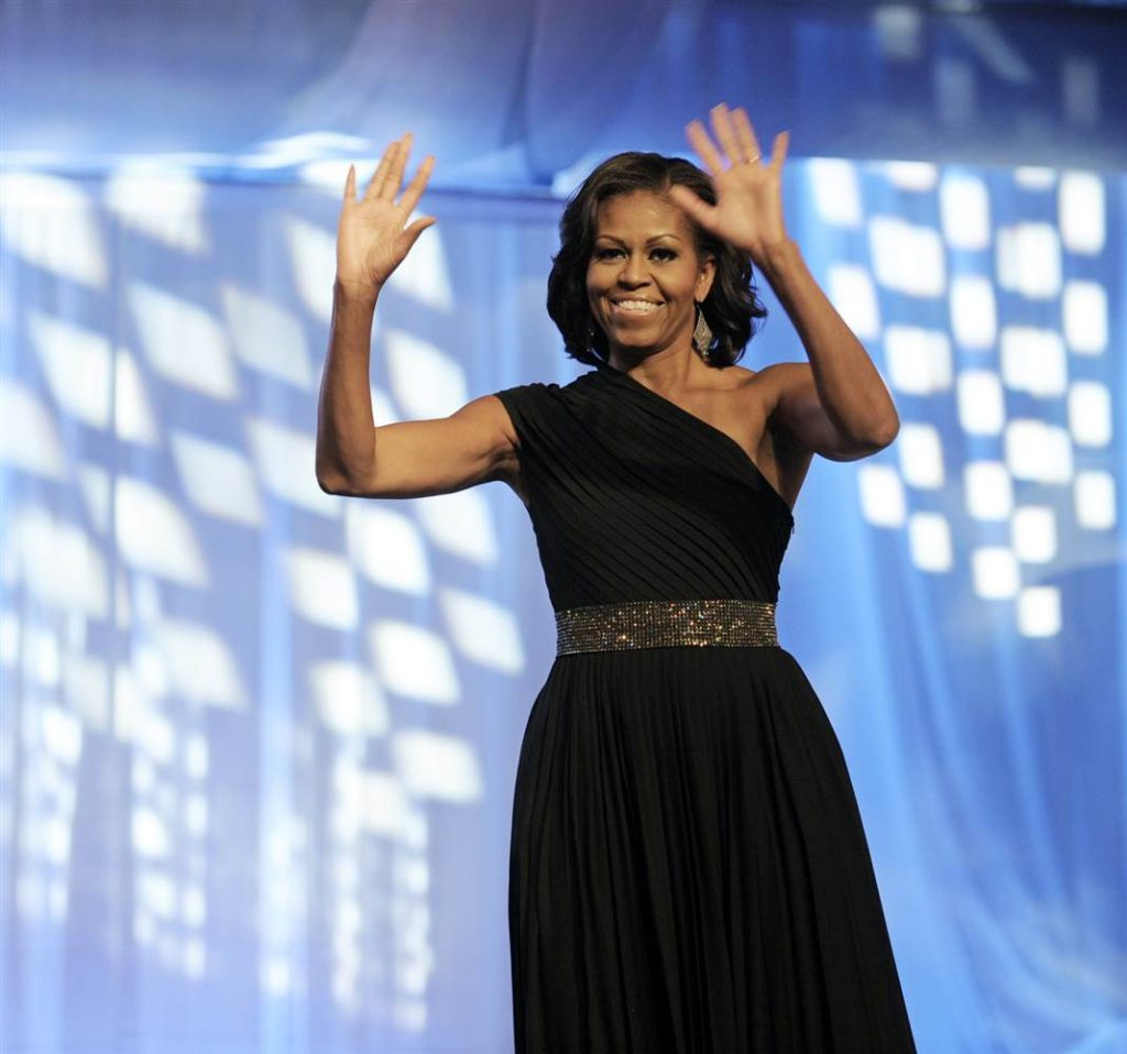Michelle Obama in Michael Kors at Black Caucus award show  Michelle Obama's favorite designers ss 120924 michelle obama 01
