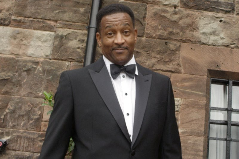 Ciara's father Carlton Harris in his Armani suit for the wedding. Courtesy of GQ  The Best Looks at Ciara and Russell Wilson's Wedding russell wilson wedding Carlton Harris 2